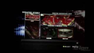 WWE SmackDown vs Raw 2010 Gameplay Create A Story Mode Part 1