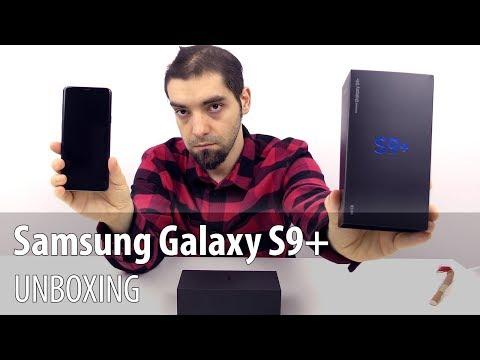 Samsung Galaxy S9+ Unboxing în Limba Română