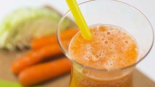 Comment préparer un jus de chou et carottes pour contrôler son niveau d'anxiété
