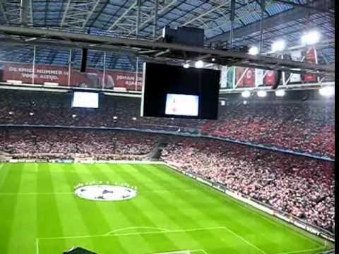 AFC Ajax UCL Atmosphere Amsterdam ArenA