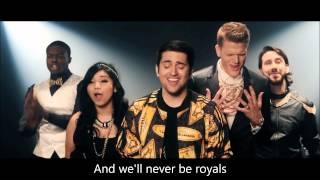 Pentatonix - Royals (HD LYRICS)