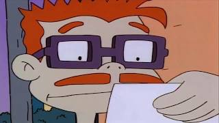 Chuckie Shows His Dad Something Strange - Rugrats - Green Screen - Chromakey - Mask - Meme Source
