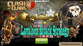 TH9 War Attack   Best Strategy Without  Queen   War Without Hero Part 2 2017