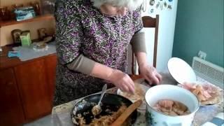 Постни сарми за Бъдни вечер // My Grandma's recipes: Vegetarian stuffed cabage leaves 'sarmi'