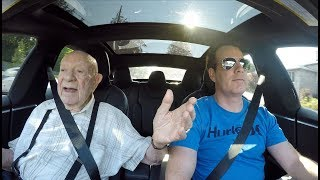 97 Year Old in a Tesla