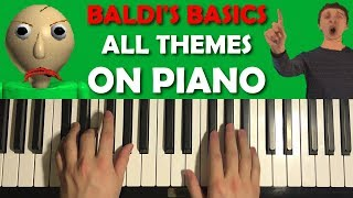 BALDI'S BASICS ON PIANO