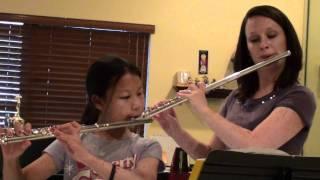 Gavotte-Flute Duet