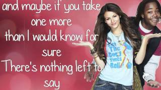 Victoria Justice & Leon Thomas lll [Victorious] - Tell Me That You Love Me - Lyrics