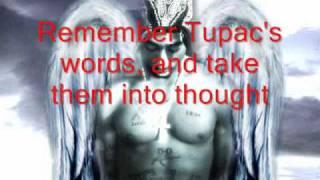 Tupac Lyrics - Evidence to Support Alive Theory