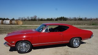 bad 1968 Chevy Chevelle SS 396/375HP Getting Down