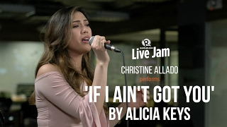 Christine Allado performs 'If I Ain't Got You' by Alicia Keys