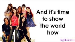 Victorious Cast ft. Victoria Justice - Make It Shine (Lyrics)