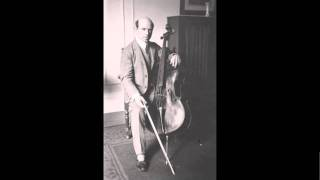 Pablo Casals - 3. Courante from Cello Suite No.2 in D minor, BWV 1008, By J.S. Bach.