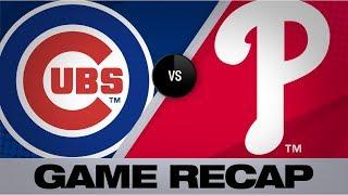 Harper's walk-off grand slam caps comeback   Cubs-Phillies Game Highlights 8/15/19