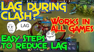 How to Fix Lag in Mobile Legends and Other Games, PUBG, RoS, 100% Safe