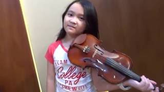 I See The Light (Tangled Disney) -Violin Cover   Kaylee Tatiana