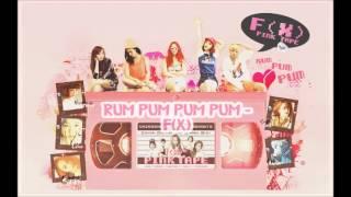 [HQ AUDIO] 에프엑스_첫 사랑니( RUM PUM PUM PUM - F(X) )
