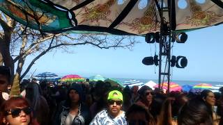 [4] Eat Static @Natural Experience Beach Festival 2017 by MoonCrystal Live Sayulita.