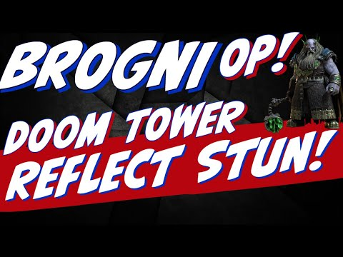 Brogni Doom Tower STUN King! This guy is OVER 9000! Raid Shadow Legends Doom tower 118 119 hard