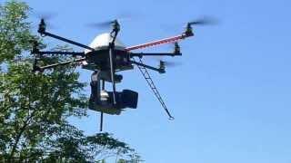 Testando uma Drone
