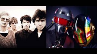 U2 vs Daft Punk - Around New Years Day