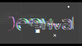 Glitch logo reveal | Apple Motion 5 & FCPX