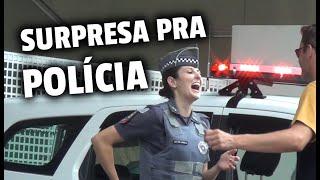 PEGADINHA SURPRESA PRA POLÍCIA !!!
