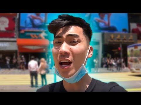 RiceGum Acts Disrespectful in Hong Kong