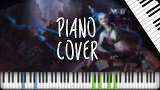 """""""Get Jinxed"""" by TH (Piano cover)"""