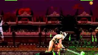 MKTX Shao Kahn Fatality #1-2-3-4