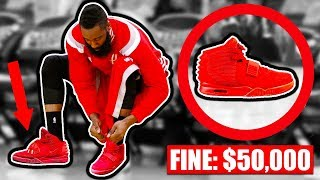 BANNED Shoes In The NBA