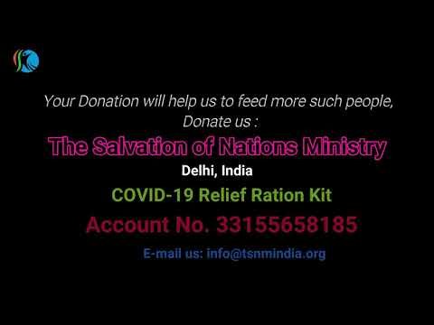 COVID -19 Relief Ration kit Distribution