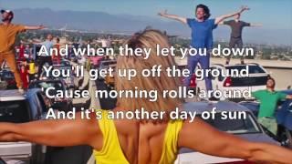 La La Land - Another Day of Sun (Lyrics)