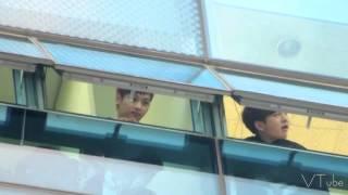 141022 빅스 VIXX 쇼챔 본방 대기 중 - 친구를 만났어요 ! (Feat.비투빅스)