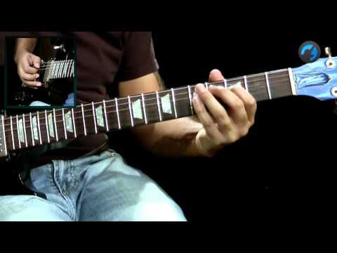 Base Blues Rock - Drop D (aula de guitarra)