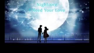 Shaggy - I Need Your Love [Nightcore]