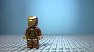 Lego IronMan - Suit up fail