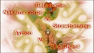 Beta Battle: Ayrton Vs Rikachan [Full Quality]
