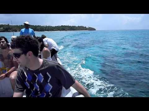 Crystal clear waters in Corn Island – Nicaragua