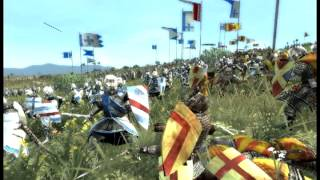 Medieval battle sound effect - infantry