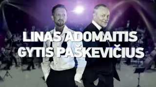 """Linas Adomaitis ir Gytis Paškevičius - """"Arena Show"""" (anonsas)"""