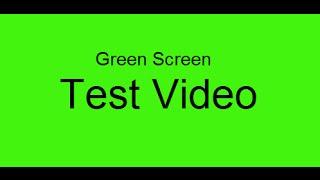 Green Screen Effects | Test Video