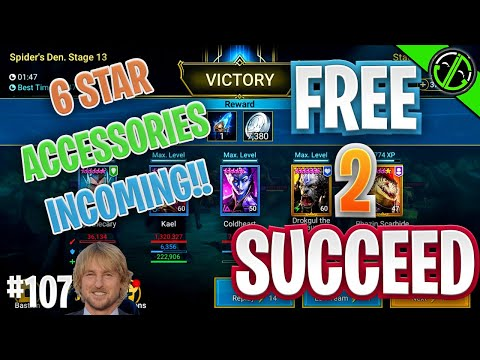 We Can Farm Spider 13 Now!!! Let The 6 Star Banners RAIN DOWN UPON US | Free 2 Succeed - EPISODE 107