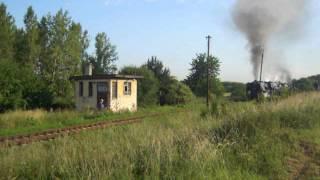 Parni lokomotivy 556.036 + 556.0506 + 555.0153 + 555.3008