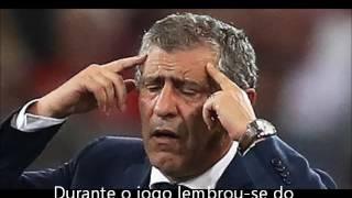Fernando Santos sonhou com o Éder