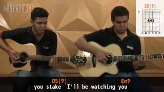 videoclase Every Breath You Take (aula de violão completa)