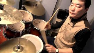 조항조 - 거짓말  drum cover 김동철