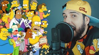 RAP COM 70 PERSONAGENS DOS SIMPSONS