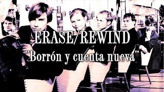 The Cardigans - Erase/Rewind (Letra en español)