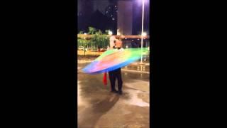 Dançando com a Bandeira Cigana - Thiago Anselmo